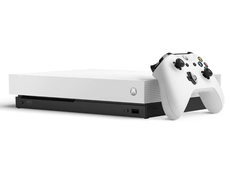 Игровая приставка Microsoft Xbox One X 1Tb White CYV-00011-M1 + Metro Exodus