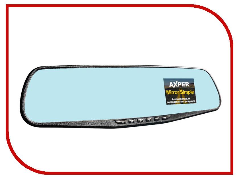 Видеорегистратор AXPER Mirror Simple видеорегистратор axper bullet