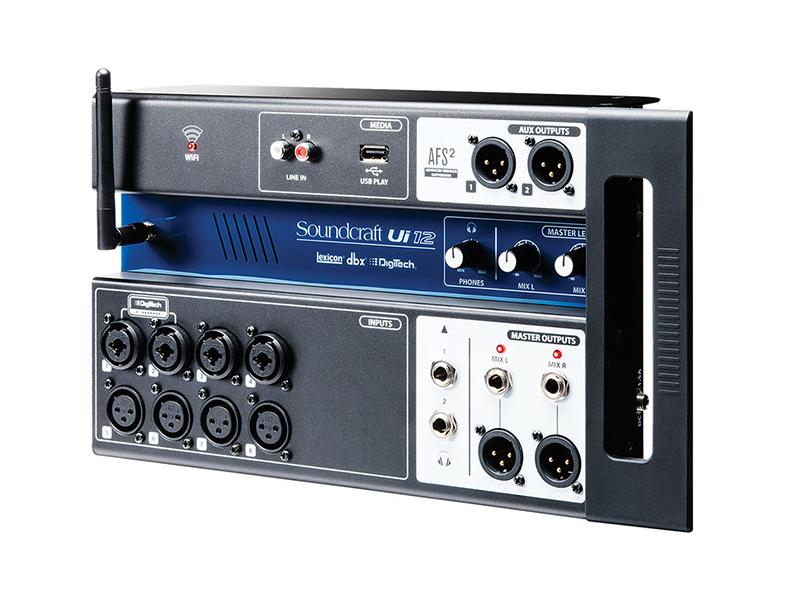 Пульт Soundcraft Ui12 soundcraft soundcraft si madi option card multi mode optical