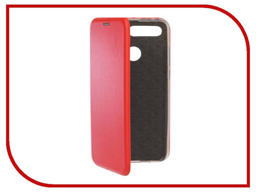 Чехол для Honor View 20 2019 Zibelino Book Red ZB-HUW-V20-RED смартфон honor view 20 256gb синий