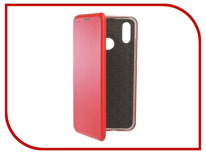 Аксессуар Чехол для Huawei P Smart 2019 Zibelino Book Red ZB-HUW-PSMT2019-RED аксессуар чехол для huawei p smart 7s innovation silicone pink 12840