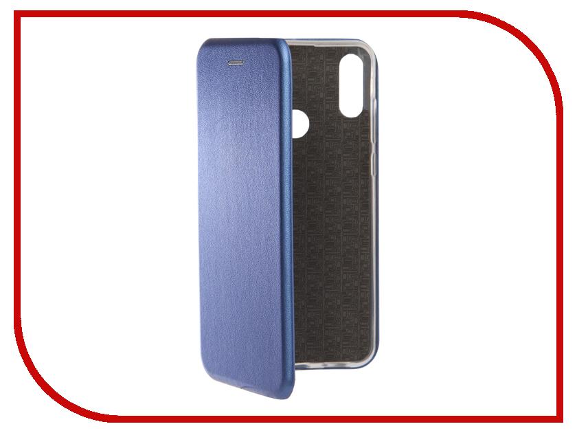 Аксессуар Чехол для ASUS Zenfone Max Pro M2 2018 ZB631KL Zibelino Book Blue ZB-ASUS-ZB631KL-BLU gangxun blackview a8 max корпус высокого качества кожа pu флип чехол kickstand anti shock кошелек для blackview a8 max