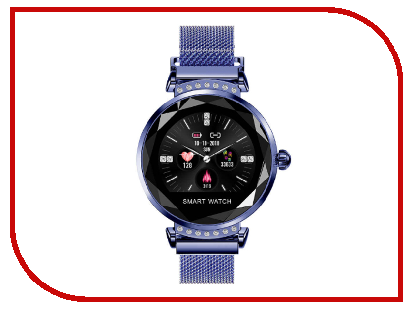 Умные часы ZDK H2 Blue dvp06xa h2