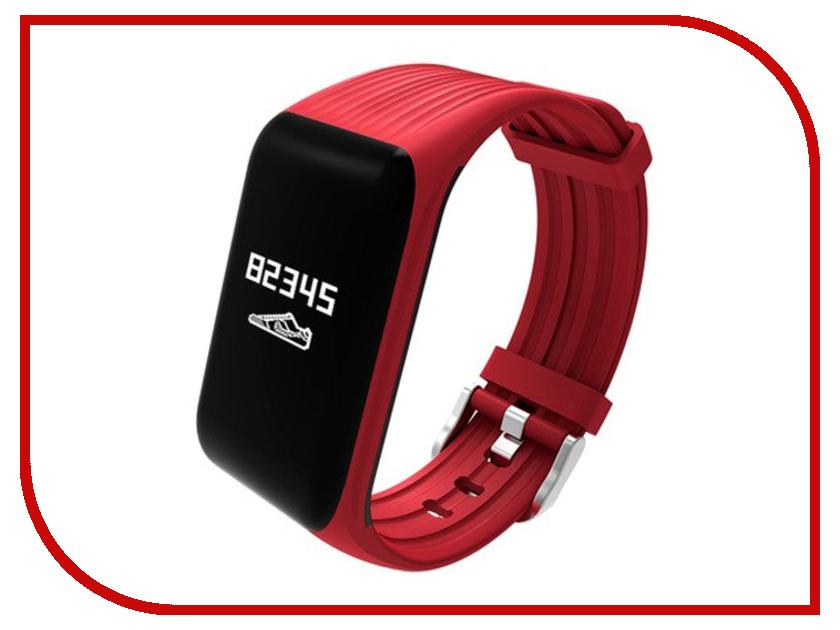 Умный браслет ZDK K1 Red умный браслет zdk sb6 gold