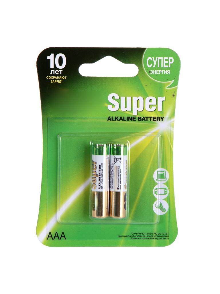 Батарейка AAA - GP Super Alkaline 24A (2 штуки) 24A-2CR2 трансмиссионная цепь 24a 2