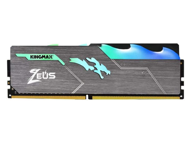 Модуль памяти Kingmax Zeus Dragon RGB DDR4 DIMM 3466MHz PC4-27700 CL16 - 8Gb KM-LD4-3466-8GRS