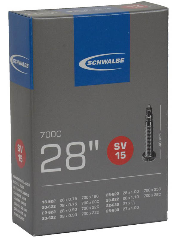 Велокамера Schwalbe SV15 18/28-622 28-0.7-1.0 10427363 цена