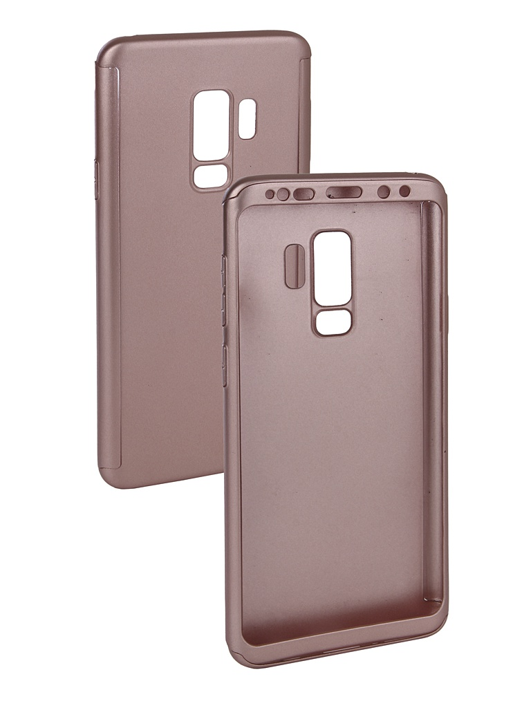 Чехол ZNP для Samsung Galaxy S9 Plus 360 Degree Pink