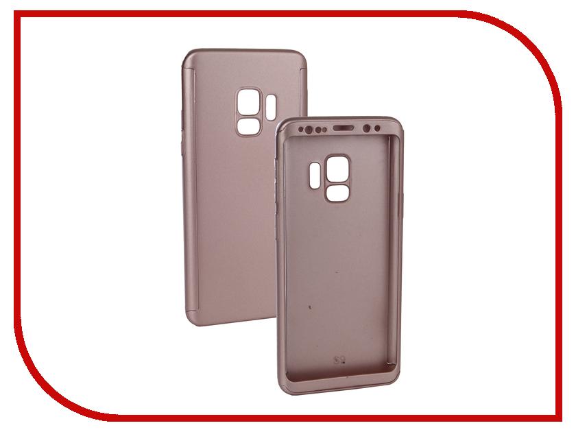 Аксессуар Чехол для Samsung Galaxy S9 ZNP 360 Degree Pink аксессуар чехол samsung galaxy j1 mini brosco pink ss j1m tpu pink