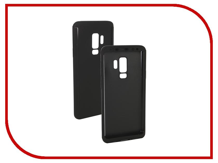 Аксессуар Чехол для Samsung Galaxy S9 Plus ZNP 360 Degree Black аксессуар чехол для samsung galaxy s9 plus brosco black ss s9p 4side st black
