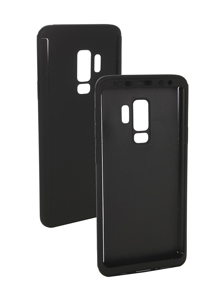 Аксессуар Чехол ZNP для Samsung Galaxy S9 Plus 360 Degree Black аксессуар чехол znp для samsung galaxy s8 360 degree pink