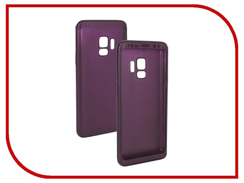 Аксессуар Чехол для Samsung Galaxy S9 ZNP 360 Degree Purple 360 degree rotation pu leather case cover stand for samsung galaxy tab pro 10 1 t520 black