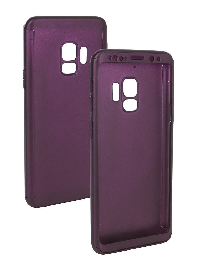 Аксессуар Чехол ZNP для Samsung Galaxy S9 360 Degree Purple аксессуар чехол znp для samsung galaxy s9 360 degree pink
