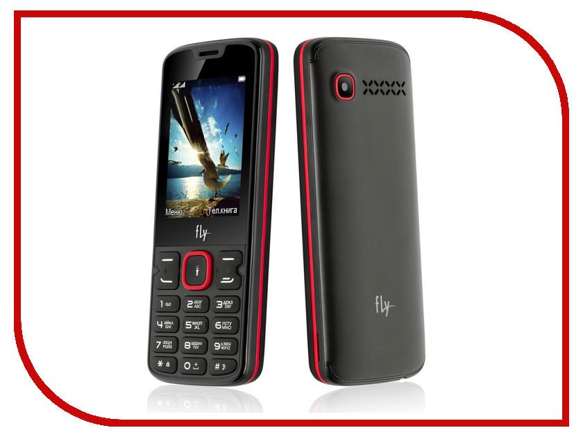 Сотовый телефон Fly FF250 Black-Red цена 2017