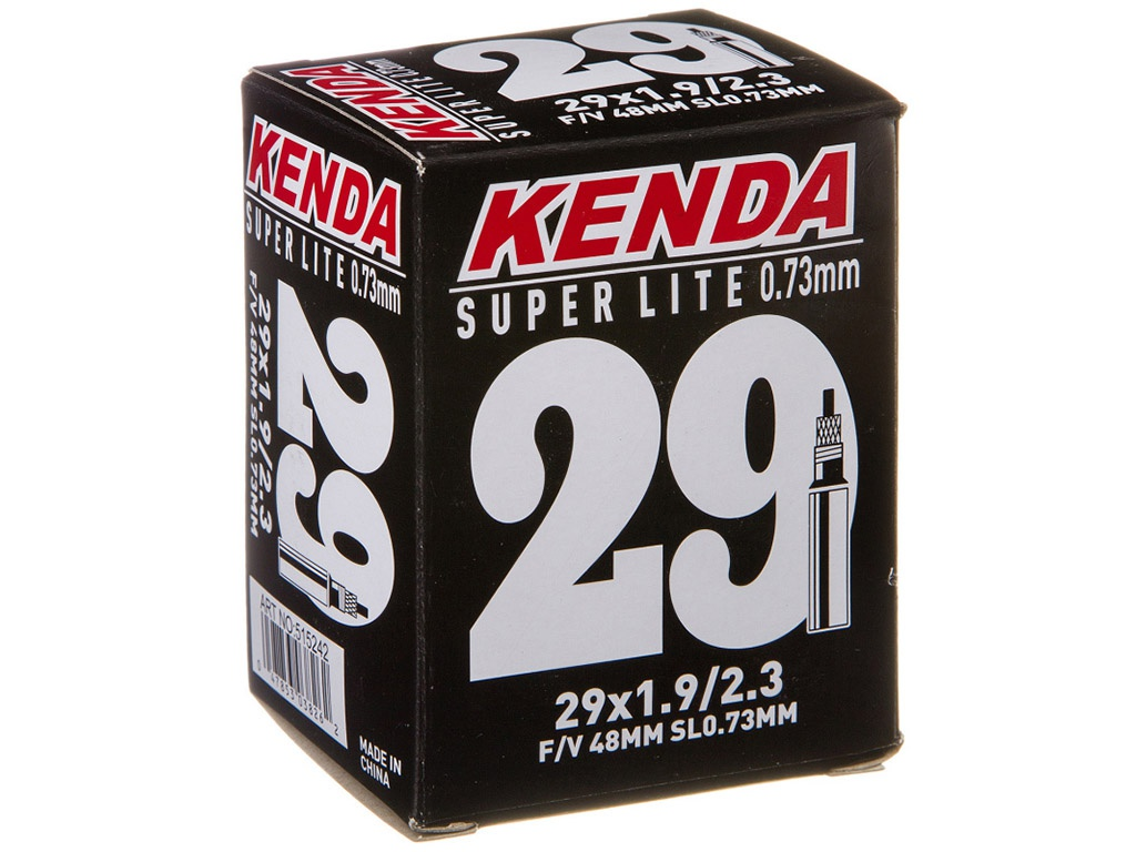 Велокамера Kenda 29х1.9-2.3 велокамера kenda 26 x3 00 для downhill a v