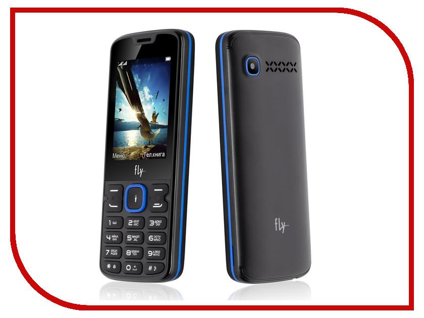 Сотовый телефон Fly FF250 Black-Blue цена 2017