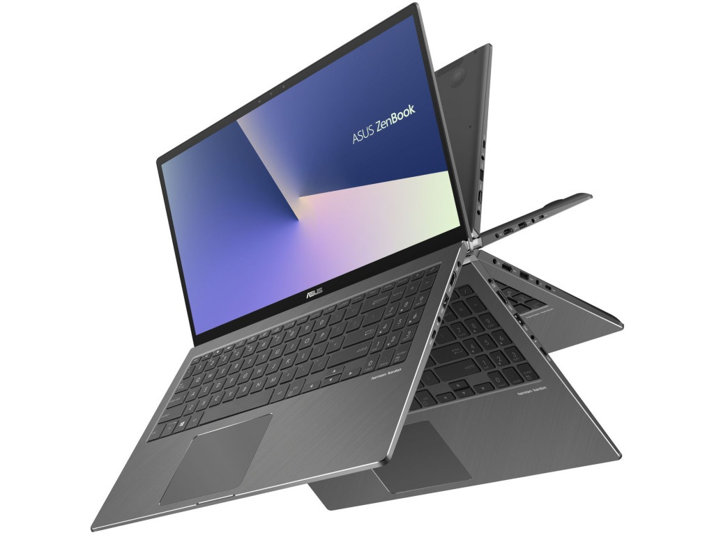 Ноутбук ASUS ZenBook Flip 15 RX562FD-EZ066R 90NB0JS1-M01080 (Intel Core i7-8565U 1.8 GHz/12288Mb/2000Gb + 256Gb SSD/nVidia GeForce GTX 1050 2048Mb/Wi-Fi/Bluetooth/Cam/15.6/1920x1080/Touchscreen/Windows 10 64-bit) ноутбук hp omen 15 ax213ur intel core i7 7700hq 2800 mhz 15 6 1920х1080 12288mb 256gb hdd dvd нет nvidia geforce gtx 1050 wifi windows 10 home