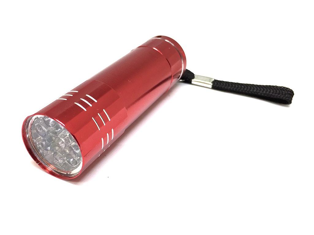 Фонарик для сушки ногтей Espada E-TUF Red 43280