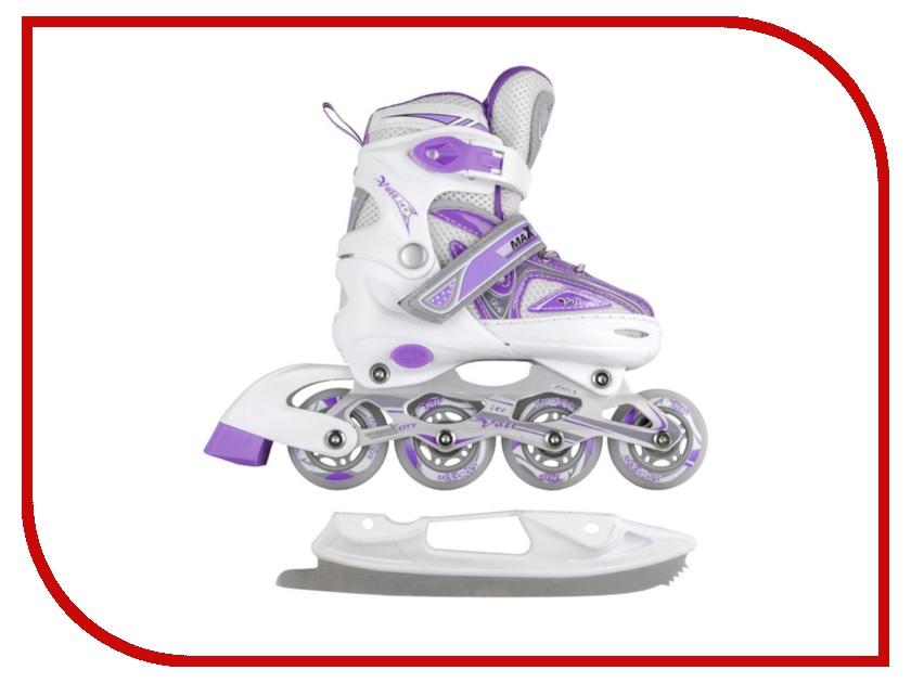 Коньки Maxcity Volt Ice р.39-42 Violet MC-IS000110