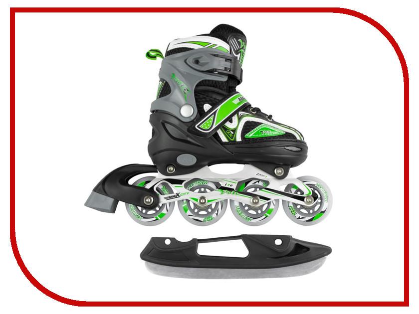 Коньки Maxcity Volt Ice р.39-42 Green MC-IS000110