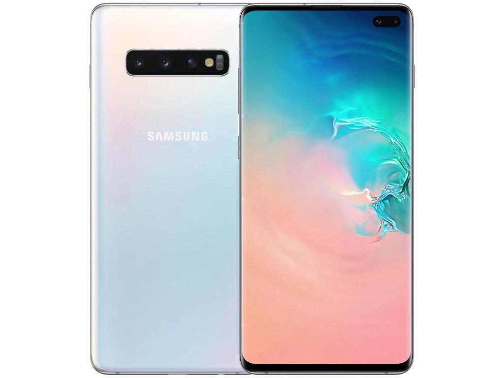 Сотовый телефон Samsung SM-G975F Galaxy S10 Plus 8Gb/128Gb Nacre
