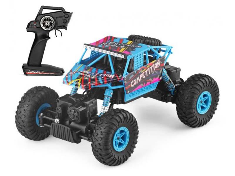 Игрушка WLToys 4WD 1:18 Light-Blue WLT-18428-C