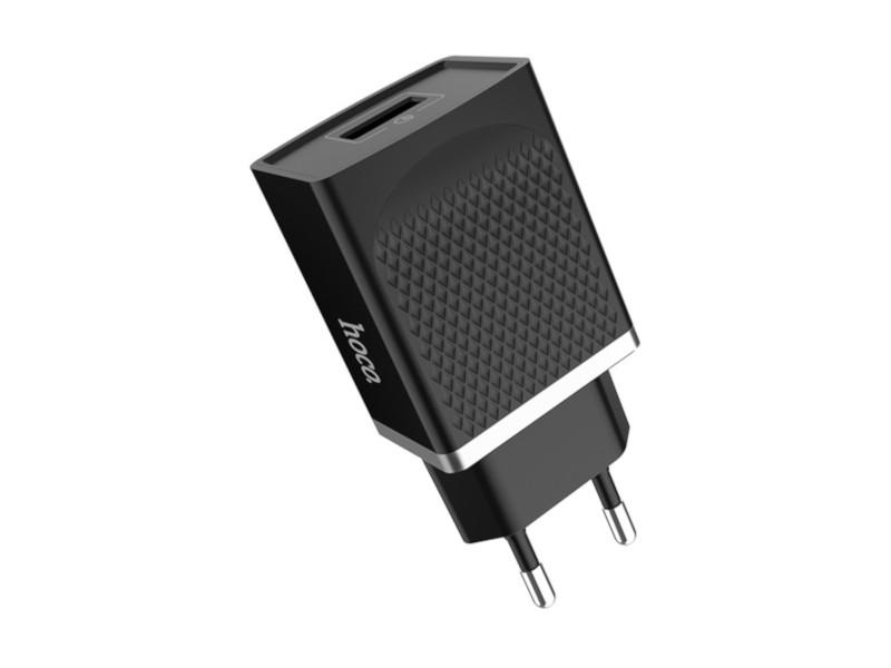 Зарядное устройство Hoco C42A Vast Power QC3.0 Black
