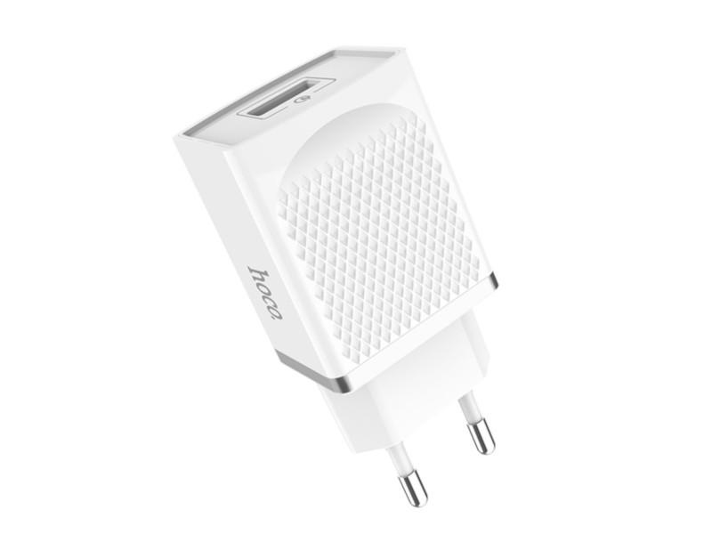 Зарядное устройство Hoco C42A Vast Power QC3.0 White зарядное устройство hoco c23b 4xusb white
