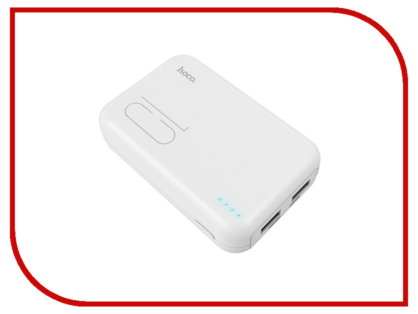 Аккумулятор HOCO J38 Comprehensive 10000mAh White цена