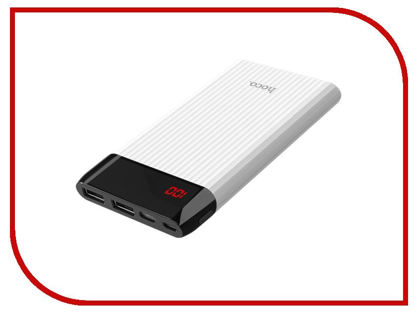 Аккумулятор HOCO J28 Shock 10000mAh White аккумулятор hoco j17a 10000mah black