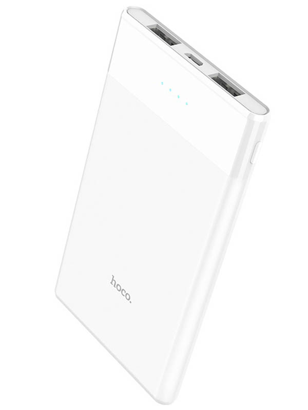 Внешний аккумулятор Hoco Power Bank B35D Entourage 5000mAh White