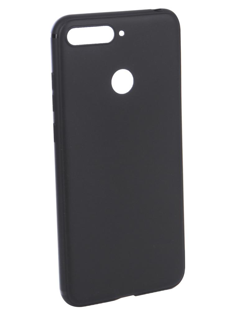 купить Аксессуар Чехол Innovation для Huawei Honor 7A Pro/Y6 Prime 2018 Black 14273 недорого