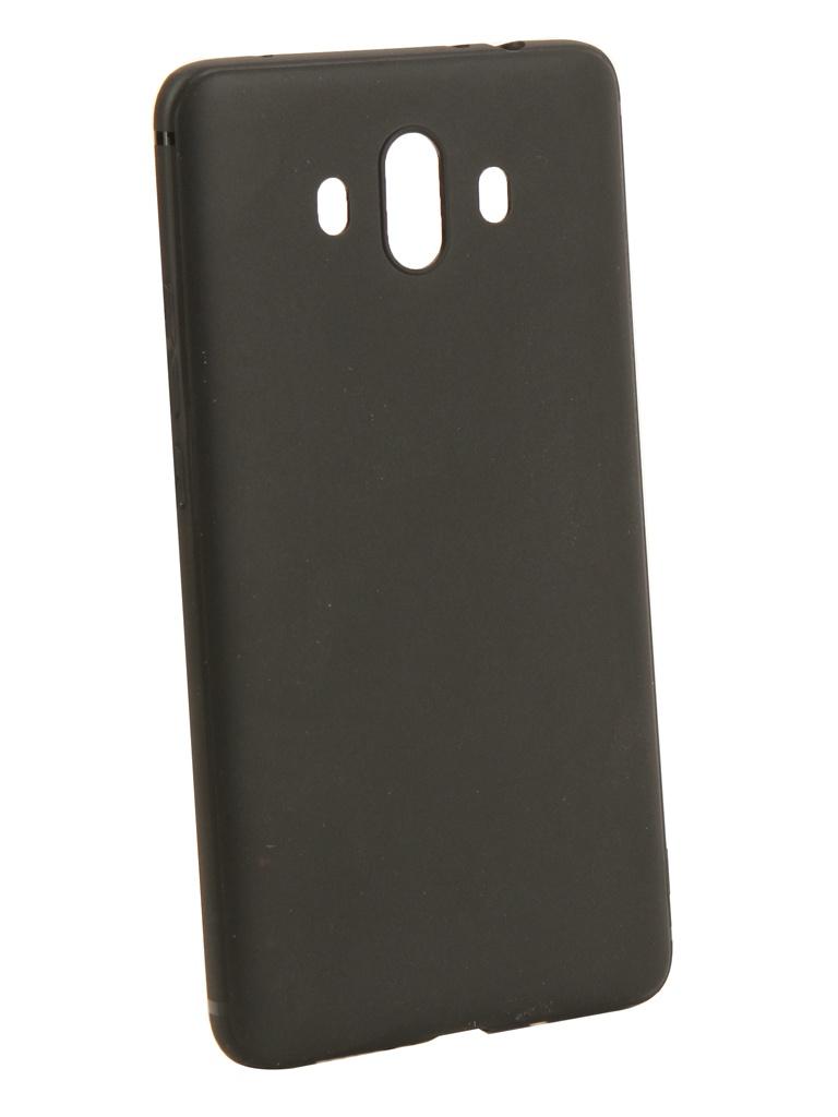 Аксессуар Чехол Innovation для Huawei Mate 10 Black 14277 аксессуар чехол для huawei p20 activ mate black 84911