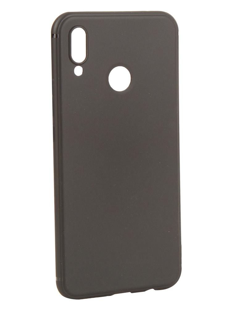 Аксессуар Чехол Innovation для Huawei Nova 3 Black 14275