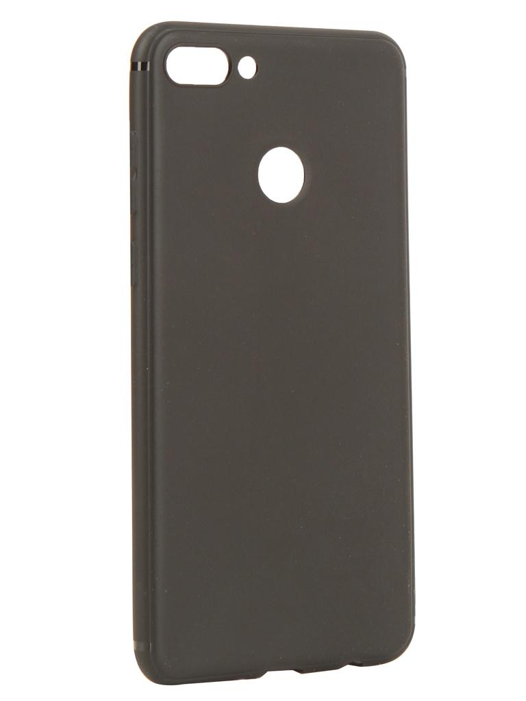 Аксессуар Чехол Innovation для Huawei Y9 2018 Black 14283 чехол для huawei y9 2018 caseguru magnetic case синий