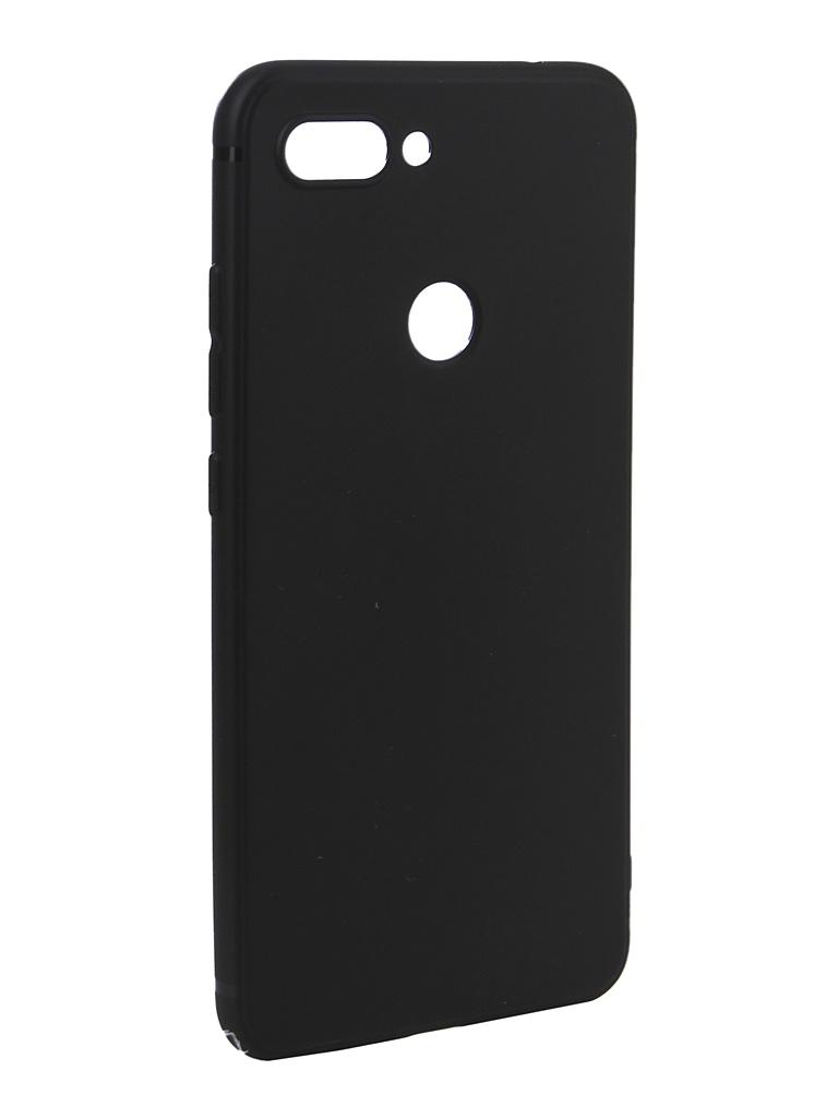 Аксессуар Чехол Innovation для Xiaomi Mi8 Lite Black 14293