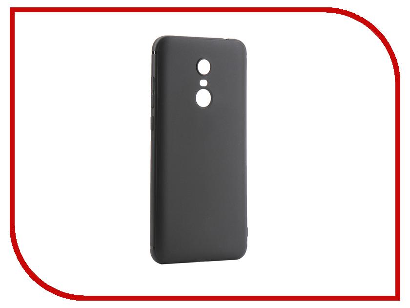 Аксессуар Чехол для Xiaomi Redmi 5 Plus Innovation Black 14291 luanke anti fingerprint back case for xiaomi redmi 5 plus page 9
