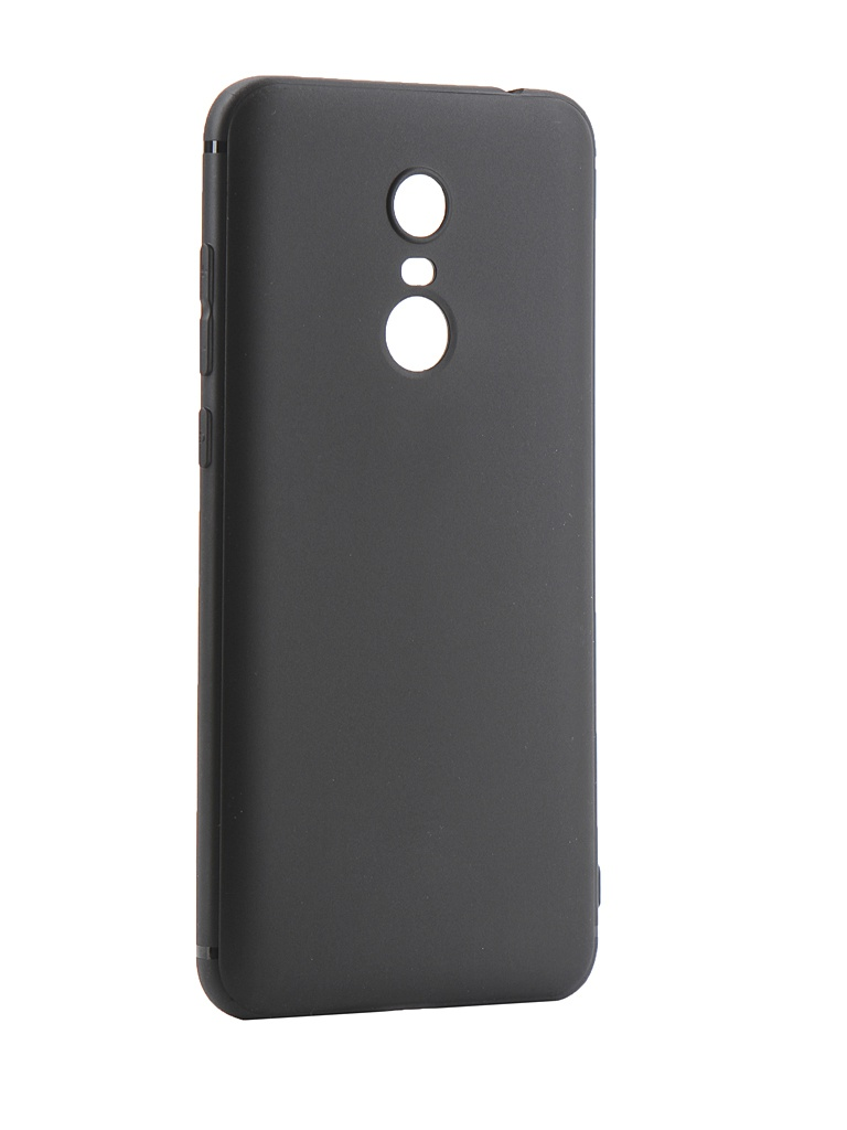 Аксессуар Чехол Innovation для Xiaomi Redmi 5 Plus Black 14291 аксессуар чехол книга innovation для xiaomi redmi 5 plus redmi note 5 book silicone gold 11448