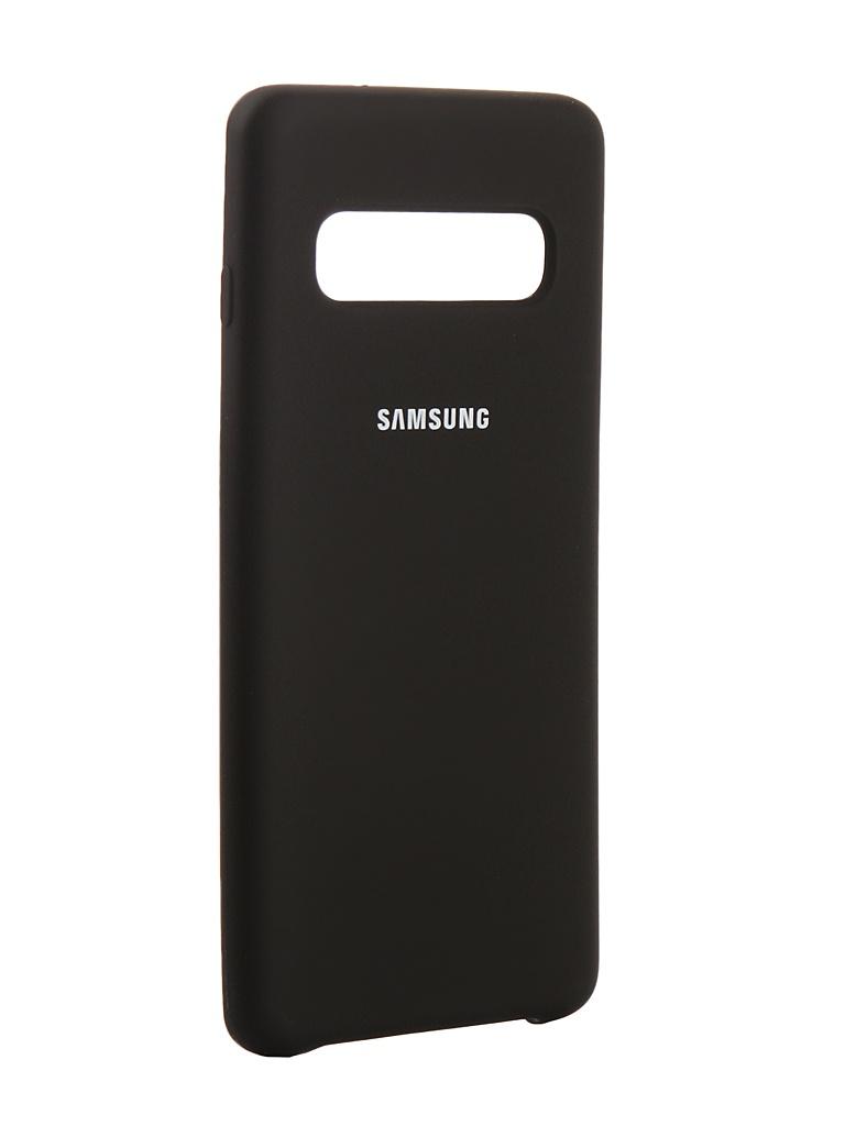 Аксессуар Чехол Innovation для Samsung Galaxy S10 2019 Silicone Вlack 14351