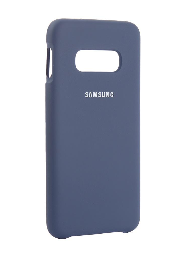 Аксессуар Чехол Innovation для Samsung Galaxy S10 Lite 2019 Silicone Blue 14357