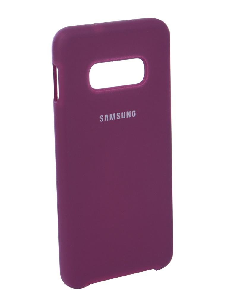 Чехол Innovation для Samsung Galaxy S10 Lite 2019 Silicone Violet 14360