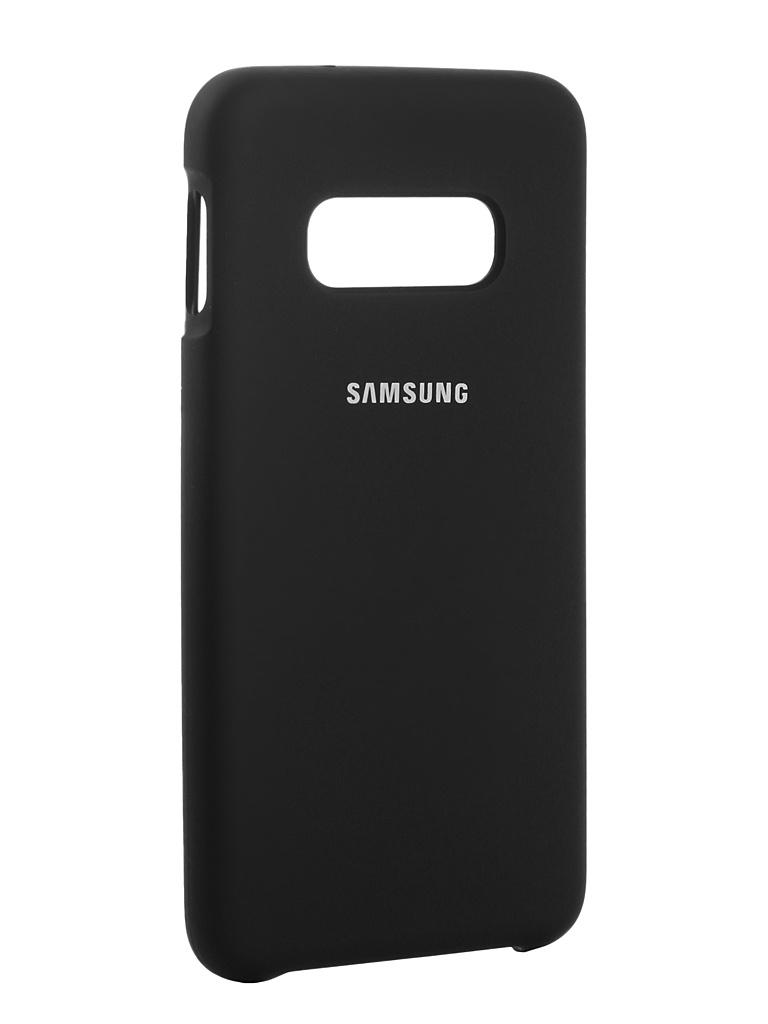 Чехол Innovation для Samsung Galaxy S10 Lite 2019 Silicone Black 14356