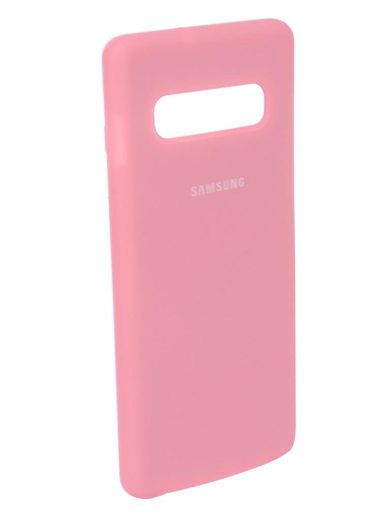 Аксессуар Чехол Innovation для Samsung Galaxy S10 Plus 2019 Silicone Pink 14365 best solution vx8812 1080p hdmi to av s video adapter s video cvbs video converter hdmi to av