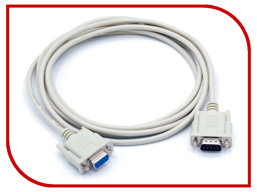Аксессуар KS-is RS-232 DB9M/DB9F 3m KS-366-3 адаптер usb2 0 rs 232 ks is ks 213