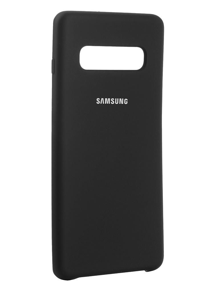 Аксессуар Чехол Innovation для Samsung Galaxy S10 Plus 2019 Silicone Black 14361 аксессуар чехол snoogy для samsung i9600 galaxy s5 creative silicone 0 3mm black
