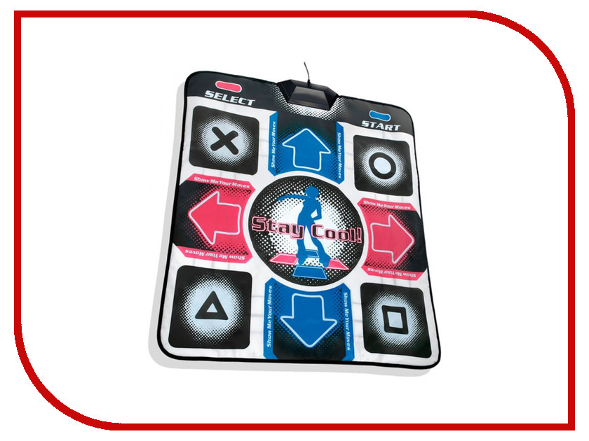 Игра Aspel Dance Perfomance II Танцевальный коврик PC (32bit) + TV (16bit) stm32f407zet6 digital music player board sd card 16bit 24bit 32bit i2s