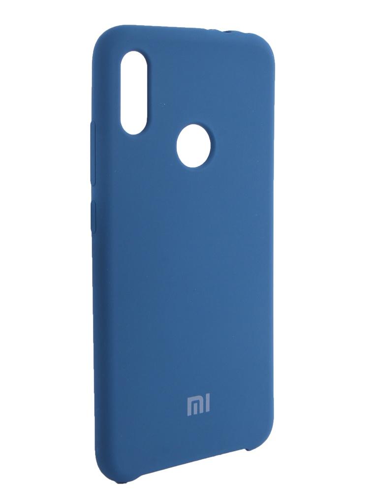Аксессуар Чехол Innovation для Xiaomi Redmi Note 7 Silicone Blue 14372