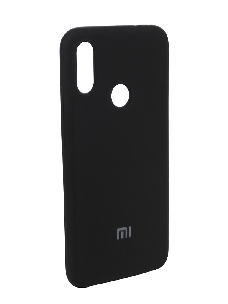 Аксессуар Чехол Innovation для Xiaomi Redmi Note 7 Silicone Black 14371 аксессуар чехол книга для xiaomi redmi 6 innovation book silicone black 12468