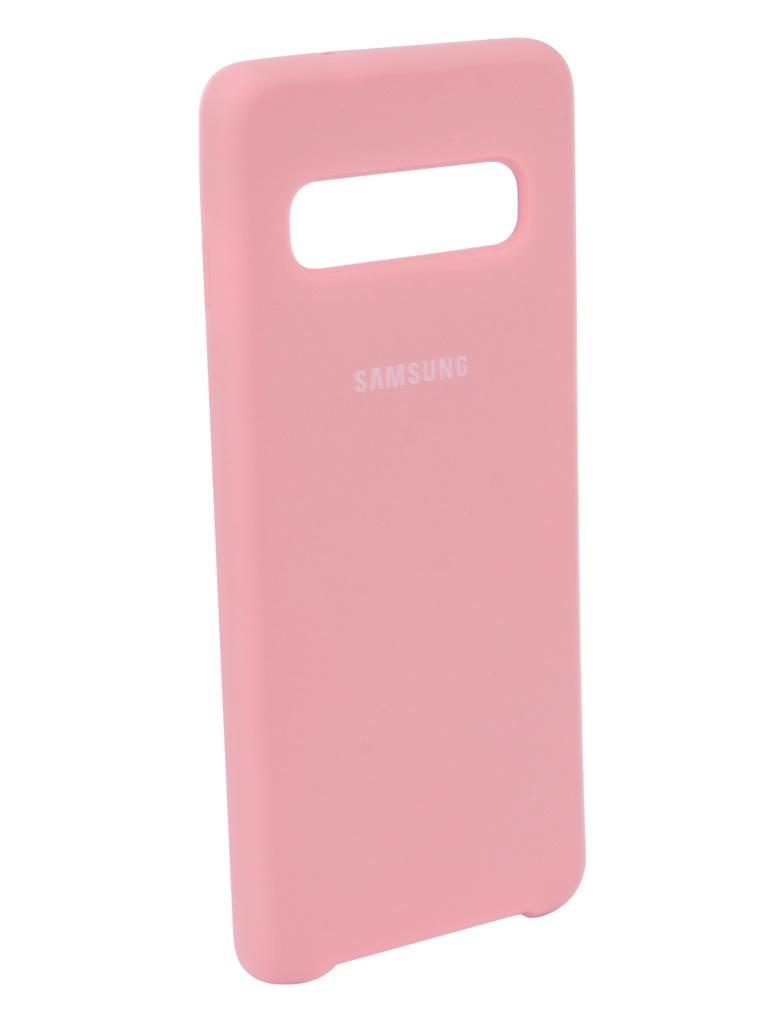 Аксессуар Чехол Innovation для Samsung Galaxy S10 2019 Pink 14353 pink dandelion design кожа pu откидной крышки кошелек для карты держатель для samsung j5prime