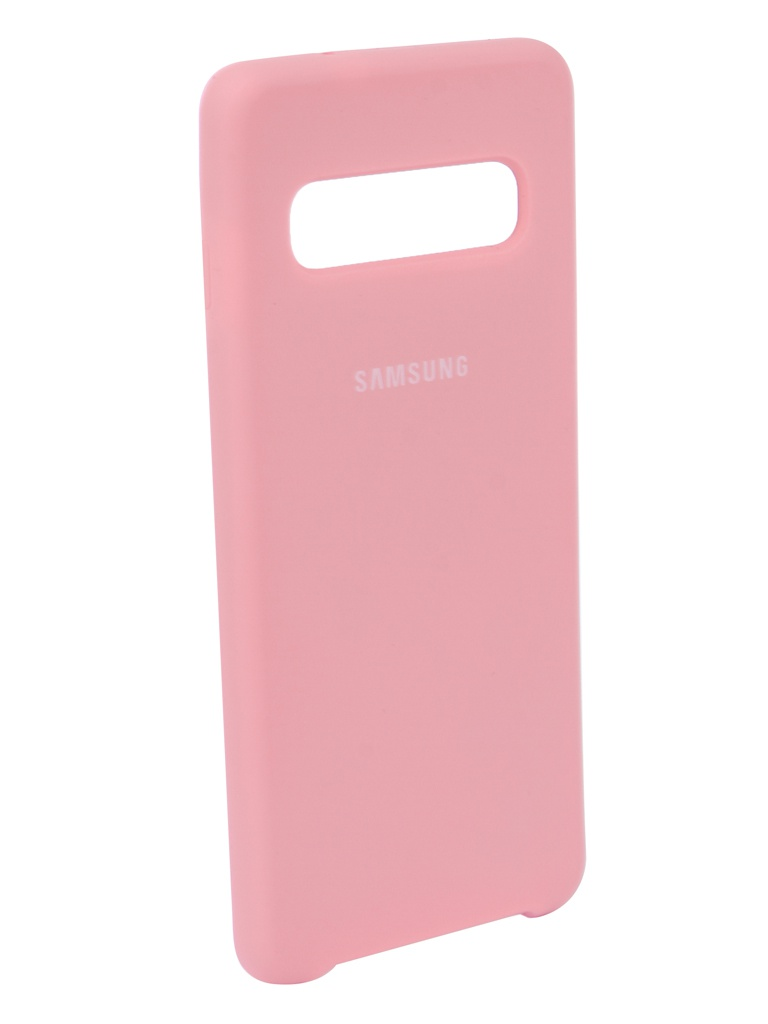 Чехол Innovation для Samsung Galaxy S10 2019 Pink 14353